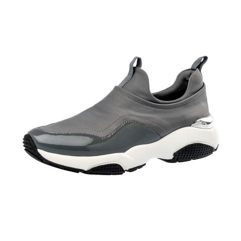 kimo gray pump exercise leisure elegant modern woman sport shoes