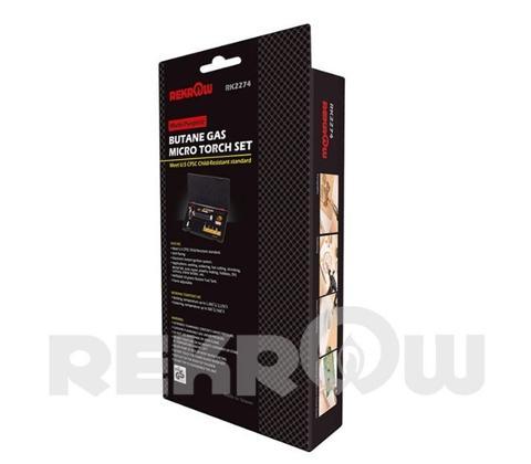 RK2274 Multi-Functional Micro Torch Kit
