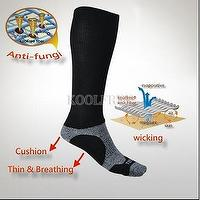 KoolFree Travel Cushion Flight Taiwan Knee Socks