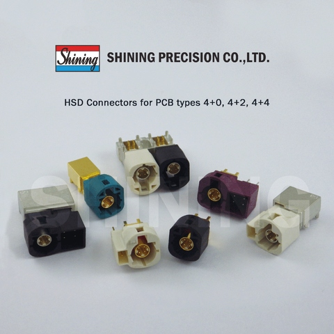 HSD Connectors for PCB type
