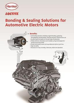 Taiwan bonding sealing solutions for automotive electric Electric motor solutions