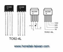 1 LED Blinking IC HK3260, TO92-4L