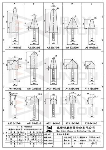 A型帶柄砂輪全產品圖(1)