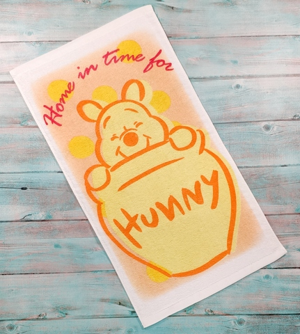 Smiling Winnie the Pooh Face Towel Wholesale