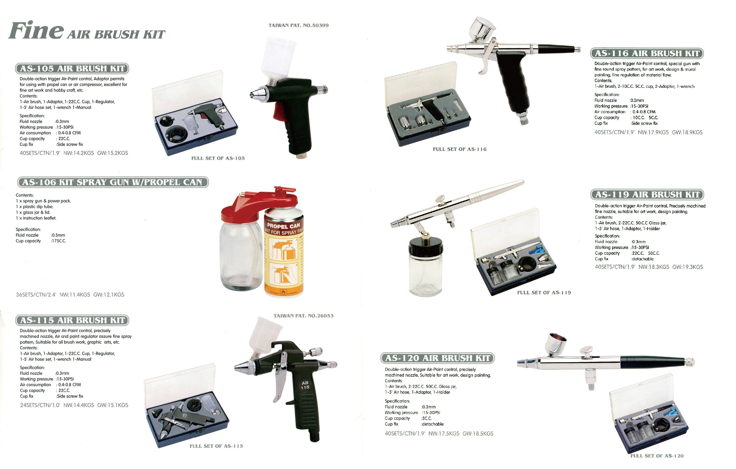 Taiwan Graffiti Spray Car Painting Airbrush Kit | A-HOT