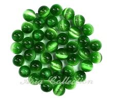 Green Cat's Eye 6mm Ball