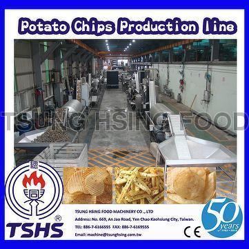 Taiwan New Product Whole Automatic Industrial Cassava Chips