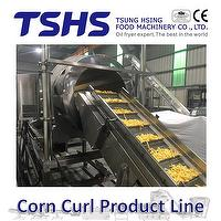 Corn Curl Production Machine