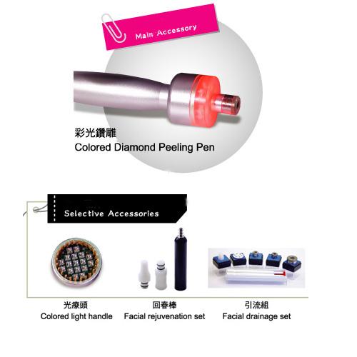 Colored Diamond Peeling Beauty Equipment_jean-modern's
