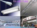 T5 LED TUBE G5 T5 LED TUBE Compatible Electronic Ballast (ECG) ;Direct Replacement;T5 LIGHT; LED LIGHT