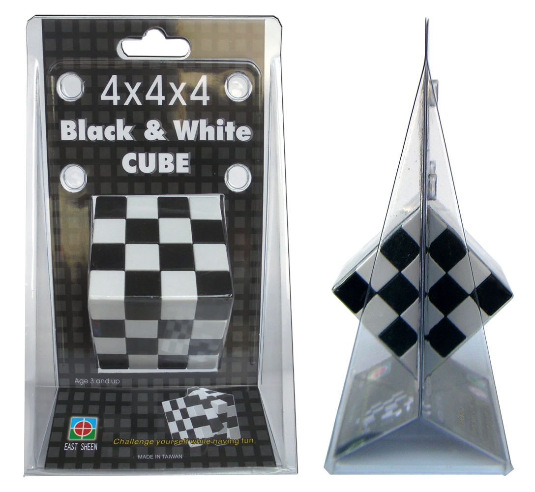 4x4x4 Black White Puzzle Cube East Sheen Industrial Co Ltd
