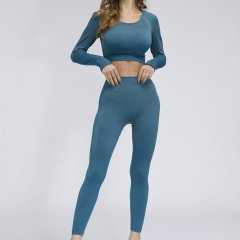 Side Stripe Leggings Yoga Sets