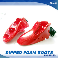 DIPPED FOAM BOOTS, KARATE, TAEKWONDO, JUDO, MARTIAL ARTS