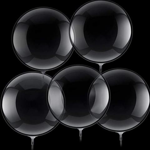 Bubble Transparent Balloons