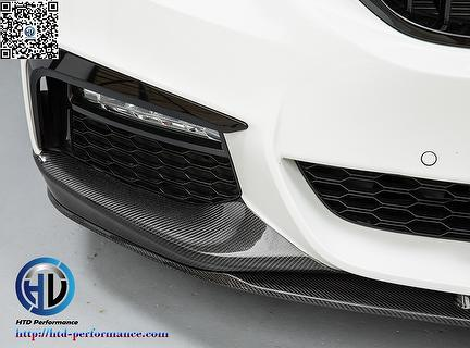 carbon front lip rear diffuser for bmw