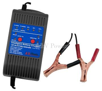 4 Stage 12V auto-switching charger