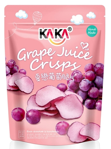 KAKA grape crisps