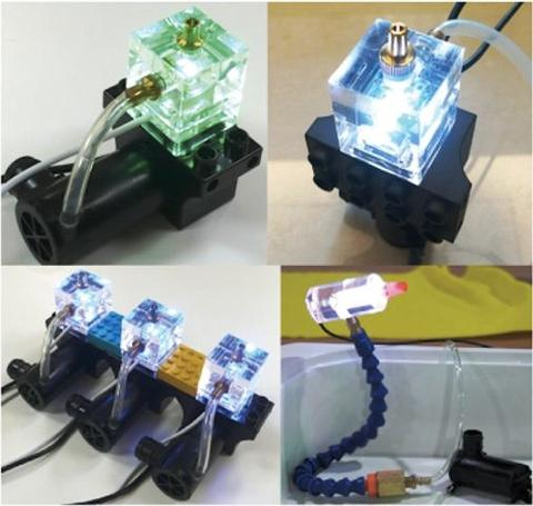 LED Building kit package
