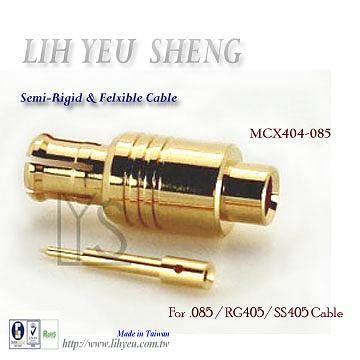 Taiwan Mcx Coaxial Connector Male Straight And Right Angle