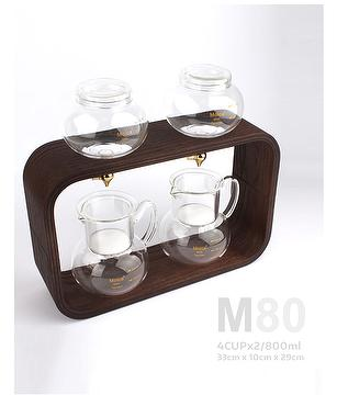 Cold Brew Dutch Coffee Maker Hand Drip SET 800ml MOICA M80 No Electricity