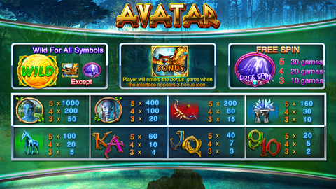Hot game -Avatar games Vertical and dual screen available