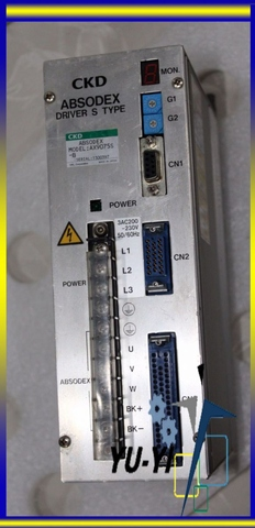 CKD AX9075S ABSODEX Servo Driver S Type