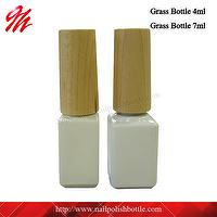 4ml, 7ml Gel Nail Polish Bottle With Wood Cap