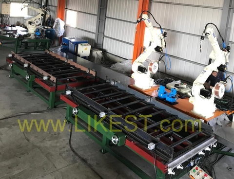 ROBOT WELDING LINE FOR CABLE LADDER