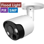 H.265 5.0MP Flood Light IP Camera