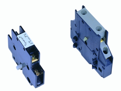 Auxiliary contact block