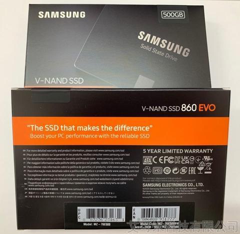 Samsung 860 EVO SATA 2.5inch SSD