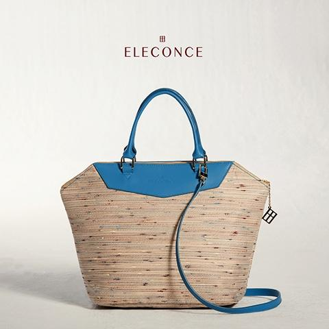 ELECONCE PARALLEL Diamond Bag (SandyYellow)