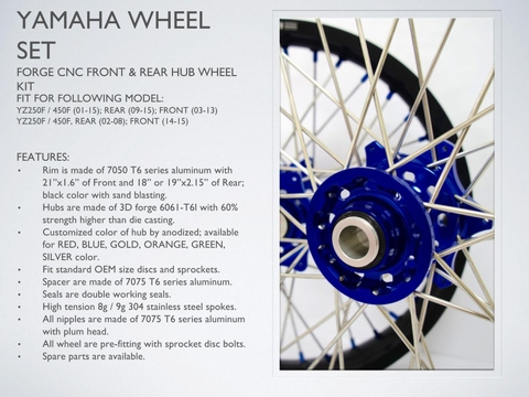 YAMAHA Wheel Set