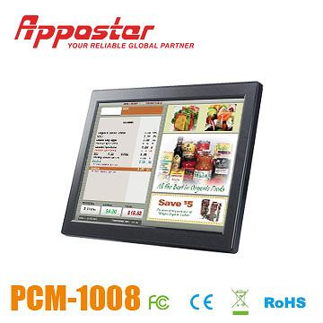 Appostar POS Monitor PCM1008 Front View
