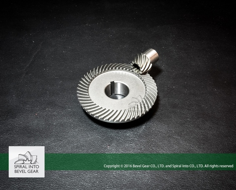 Spiral Bevel Gear for Outboard Motor