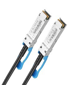 DAC Direct attached cable 2m AWG30-24 100G QSFP28