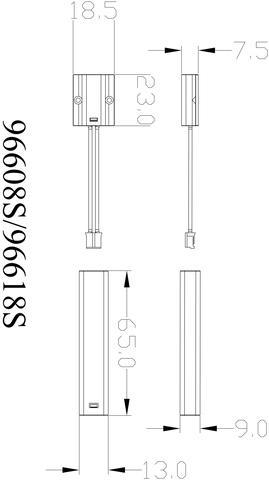 Door industry IR photoelectric switch sensor  model:96608S