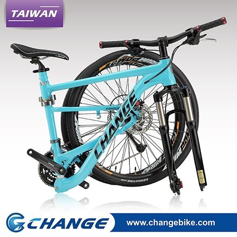 Foldable Mtb Frame Changebike High Quality Alu 7005 Frame