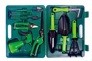 Taiwan 10 pcs gardening tool set geon hung enterprise co for Gardening tools kit set india