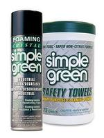 Foaming Crystal - Simple Green Safety Towels