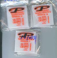 Tag-less Iron-on Garment Label Heat Transfers with Logo Foil stamping Transfer