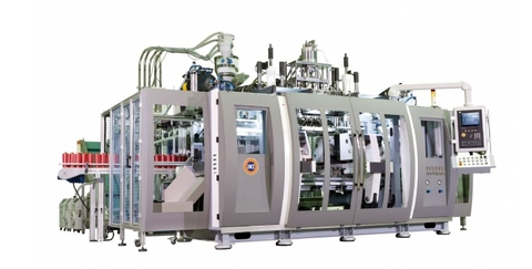 Continuous Extrusion Series Blow Moulding Machine