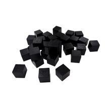 2cm Black Wood Cube