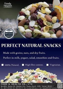 Perfect natural snacks
