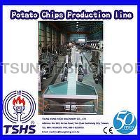 Stainless Steel Large Scale Fried Sweet Potato Crisp Machinery Equipment