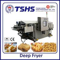 High Efficiency Energy Saving  Automatic Fish Lpg Gas Fryer Machine