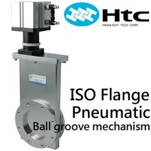 ISO Flange pneumatic gate vlaves-Ball type