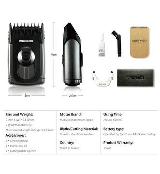 mb 045 Urbaner mb-045 trimmer is a multi-purpose hair trimmer designed to trim sideburns, hairs on hands, arms, legs, chest, and armpits it has 5 custom settings for cutting hairs in different lengths: 1(f), 5, 7, 9, 12mm, which allows for convenient hair thinning routine.
