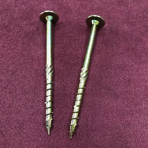 Wafer head screws - twin-cut chipboard M10X80