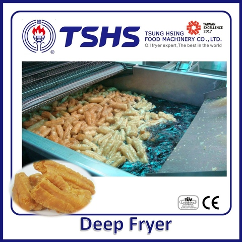 High Efficiency Energy Saving  Automatic  Chips Lpg Gas Fryer